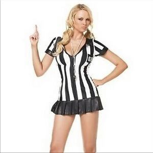 NEW Leg Avenue Game Official Referee M/L